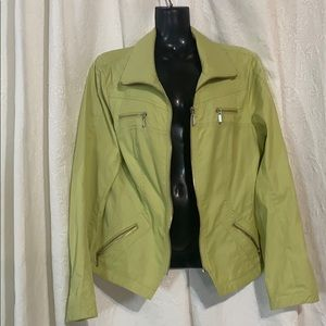 Bellissima Fashions lime green jacket